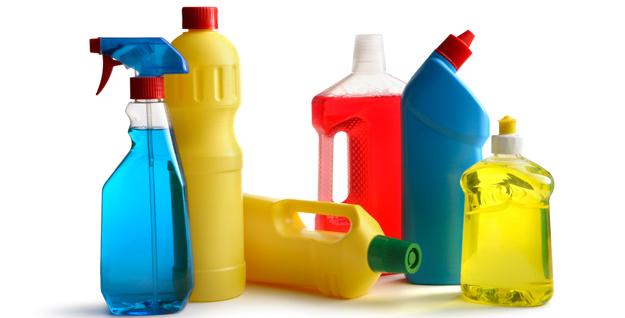 danger produit de nettoyage